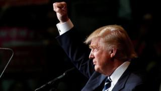 """Donald Trump, """"umuntu w'umwaka"""" mu 2016"""