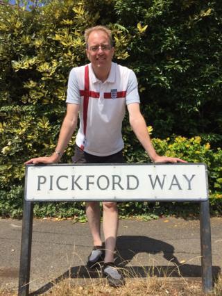 Paul Garratt on Pickford Way in Swindon