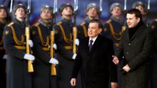 Президент Мирзиёев шарафига фахрий қоровул
