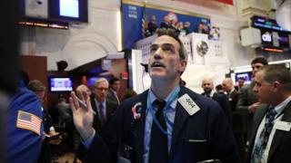 Фондова біржа в Нью-Йорку