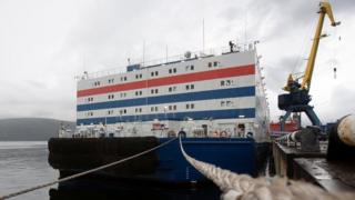 Russia floating nuclear power station to set sail across Arctic