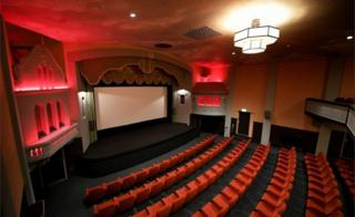 Auditorium of restored Campbeltown Picture House