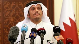 Katar Dışişleri Bakanı Şeyh Muhammed bin Abdurrahman es-Sani (Arşiv)