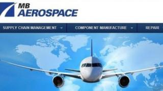 MB Aerospace website