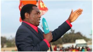 Hakainde Hichilema, Zambie