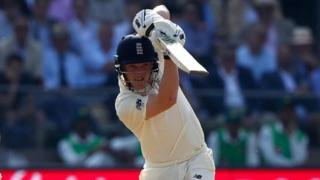 Dom Bess made fifty on his Test debut