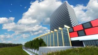 The Cyphinx virtual skyscraper