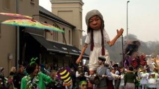 Derry parade