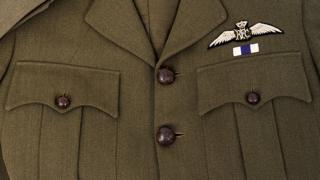British airman's tunic and cap - WW1