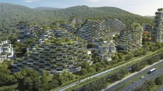 Planes para construir una ciudad bosque en Liuzhou