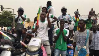 Sénégal éliminé, fin du parcours de l' Afrique