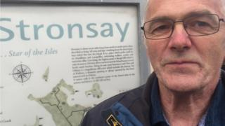 Ian Cooper Stronsay Community Council