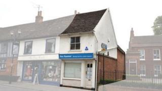 Ben Gummer's office on Fore Street, Ipswich
