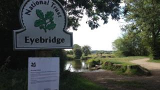Eyebridge warning notice