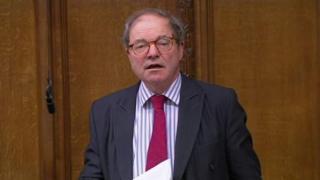 Conservative MP Sir Geoffrey Clifton-Brown