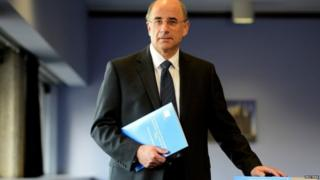 Sir Brian Leveson on the day his 2012 report into press standards was published
