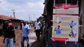 Mu kwezi gushize hari abantu banduye cholera bari mu nama i Nairobi (iyi foto yafatiwe i Kibera muri 2015)