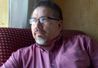 Mexican journalist Javier Valdez, pictured on May 23, 2013.