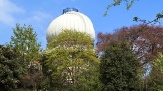 El Domo de Cebolla del Observatorio de Greenwich
