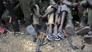 Enfants soldats, Soudan du Sud