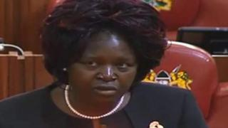 Lilian Achieng Gogo tell members of parliament say farting on planes fit lead to fight