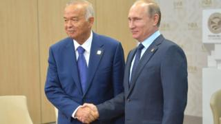 Karimov, Putin