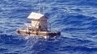 Mr Adilang's rompong adrift at sea