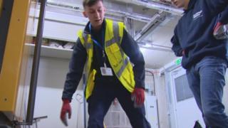 Scottish Water workers
