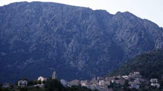 Soccia village, Corsica