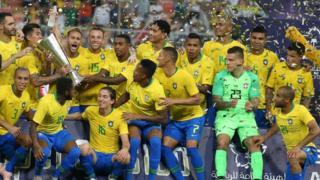 المنتخب البرازيلي بطلا للسوبر كلاسيكو