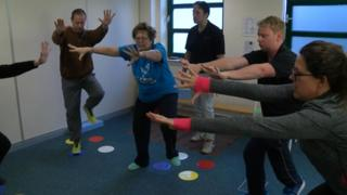 PD Warrior exercise regime at the Morrello Clinic in Newport