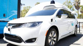 Waymo robot car