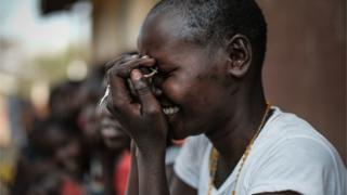 Ọmọ ilé kan ní Uganda