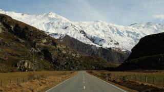 дорога к горе Аспайринг