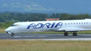 Adria Airways jet