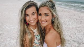 Rikki Kahley and her sister Chloe