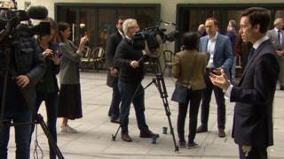 Leadership candidates interviewed