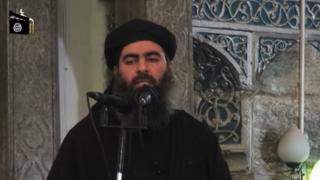 นายบักห์ดาดี เทศนาธรรมทางศาสนาอิสลาม เมื่อปี 2014