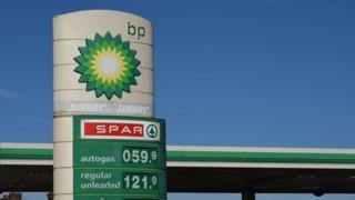 BP petrol station