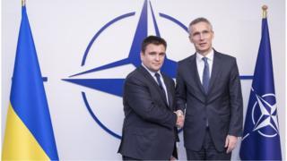 Павло Клімкін і генсек НАТО Єнс Столтенберг