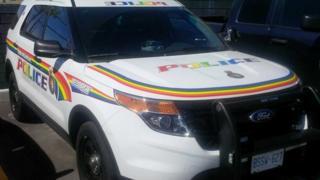 York Regional Police car