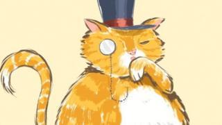 fat cat in a hat