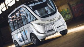 The Navya Autonom bus