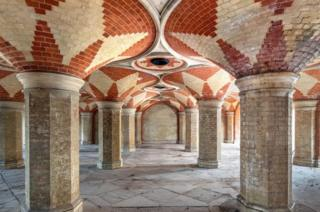 Pedestrian Subway, Vestibule, Terrace and Stairs beneath Crystal Palace
