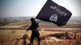 عنصر من تنظيم الدولة الإسلامية