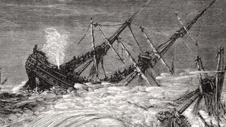 1703 की महाआंधी
