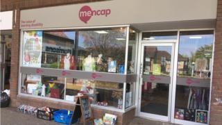 Mencap's shop in The Paddocks, Old Catton, near Norwich