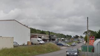 Bridgend Industrial Estate on Princes Way