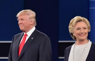 Trump iyo Clinton ayaanan isa salaamin dooda ka hor