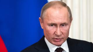 President Vladimir Putin, 6 Mar 20